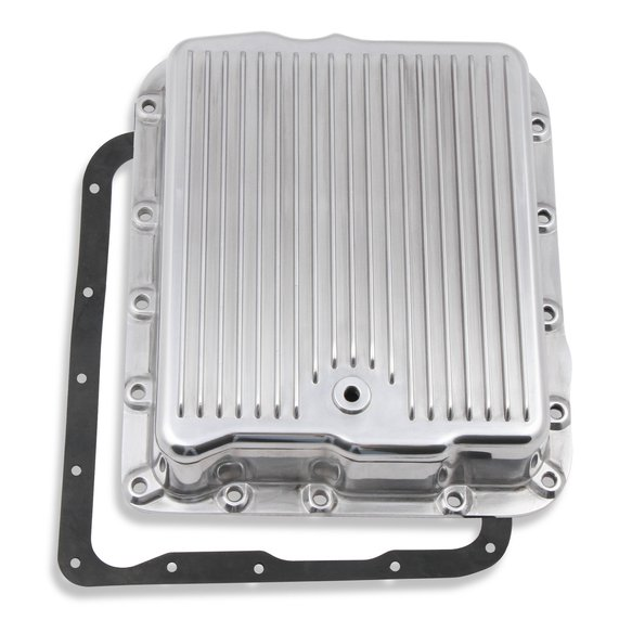 9797PMRG - Mr. Gasket Transmission Oil Pan - Polished Aluminum Image