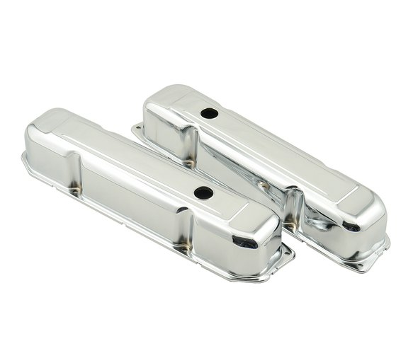 9807 - Chrome valve covers for 1965-78 Chrysler big block 383-440 engines. Image