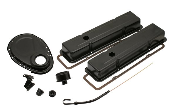 9834BP - Mr. Gasket Engine Dress Up Kit - Flat Black Image
