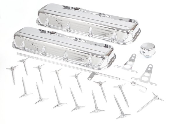9840 - Mr. Gasket Chrome Engine Dress-Up Kit Image
