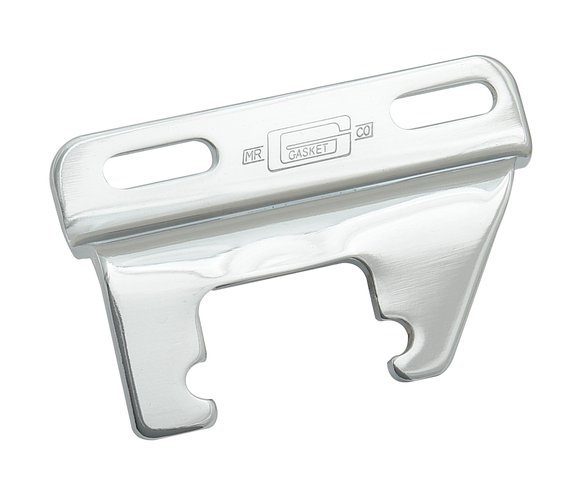9852 - CHROME HEADER MOUNT ALTERNATOR BRACKET Image