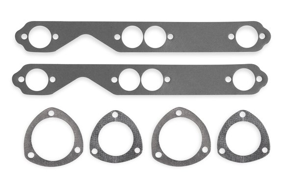 99160FLT - Header Gaskets - Aluminum  - 262-400 Chevrolet Small Block Gen I 1955-91 Image