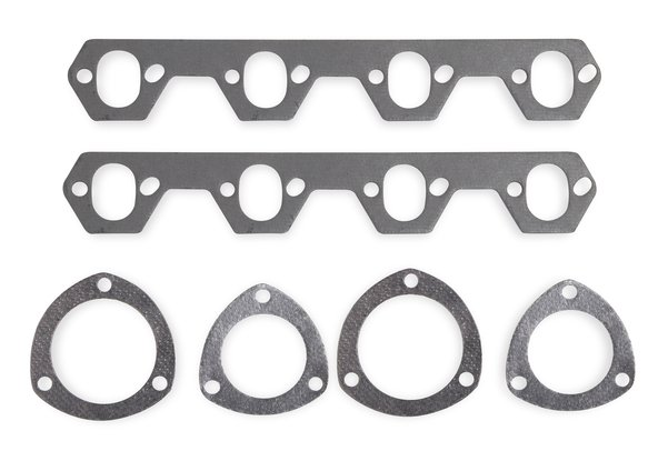 99263FLT - Header Gaskets - Ferroglass Non-Asbestos - 302-351W Ford Small Block Windsor 1987-95 Image