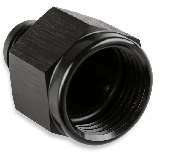 995008-BL - Mr. Gasket -10 AN Female To -8 AN Male Flare Reducer Black - additional Image