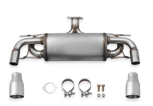 BH10305 - Hooker BlackHeart Axle-Back Exhaust System Image