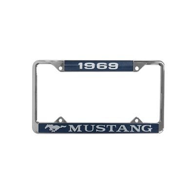 ACC-LPF-69 - Scott Drake 1969 Mustang Year Dated License Plate Frame Image