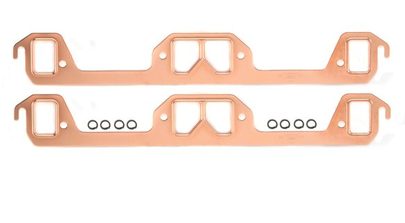 7166MRG - Header Gaskets - Copper-Seal - 273-318 Chrysler Small Block LA 1966-92 - 2 BBL Image