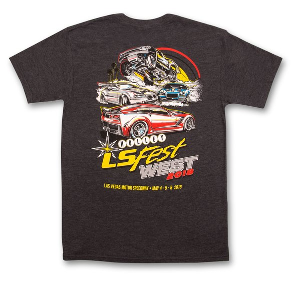 10144-LGHOL - 2018 Holley LS Fest West Drift Tee Image