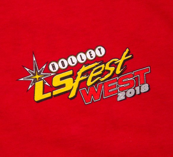 10147-MDHOL - 2018 Holley LS Fest West Red Engine Event Tee - additional Image