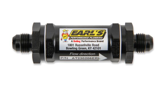 AT230208ERL - Earls Fuel Filter Screen Type In-Line Fitting Size 8; 85 Micron Image