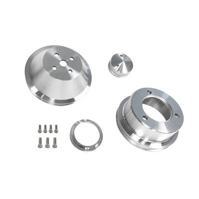 B-F101 - Scott Drake 65-69 289-302 Billet Pulley Kit Single Groove Image