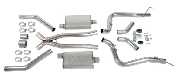 BH13192 - Hooker BlackHeart Header Back Exhaust System Image