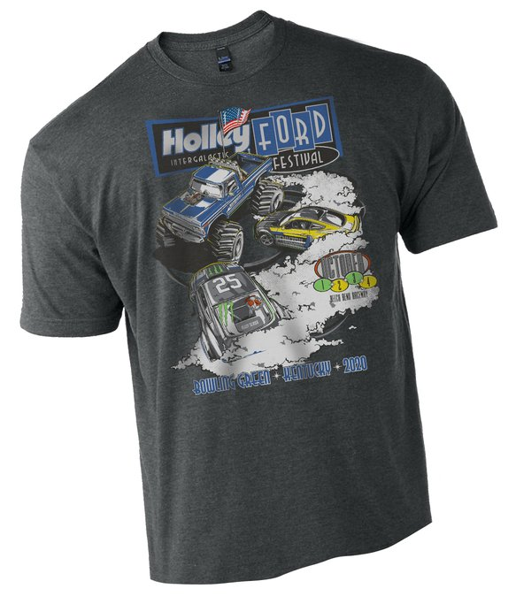 10275-4THOL - 2020 Ford Fest Big Foot Toddler Tee - Large logo on front only. Image
