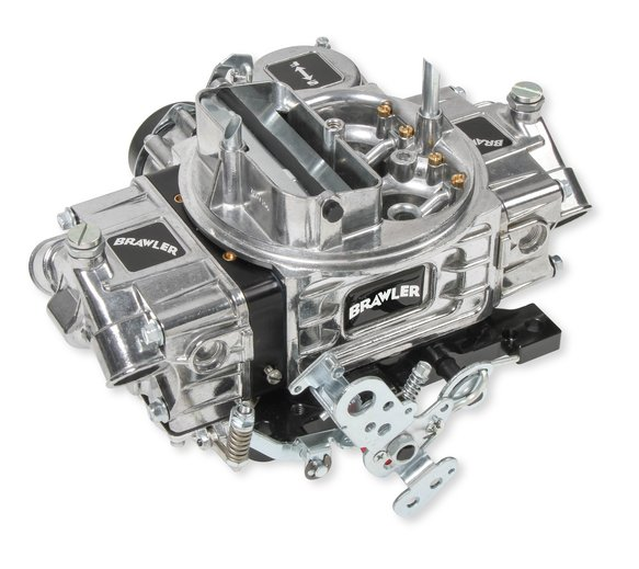 FRBR-67206 - 600 CFM Brawler Street Carburetor Vacuum Secondary-Factory Refurbished Image