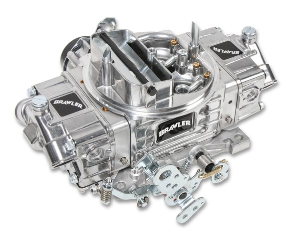 FRBR-67257 - 750 CFM Brawler Diecast Carburetor Mechanical Secondary-Factory Refurbished Image