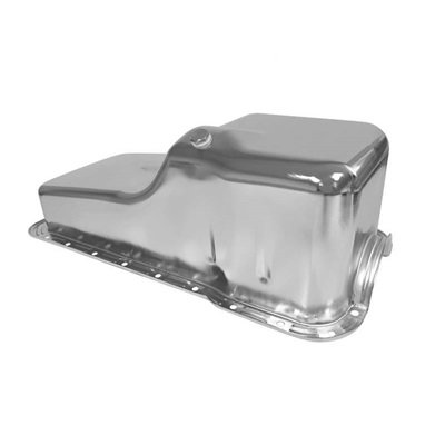 C5AZ-6675-C - Scott Drake 1964-69 Concours Small Block Oil Pan(chrome) Image