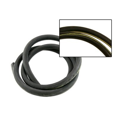 C5ZZ-18472-Y - Scott Drake Heater Hose (With Yellow Stripe) Image
