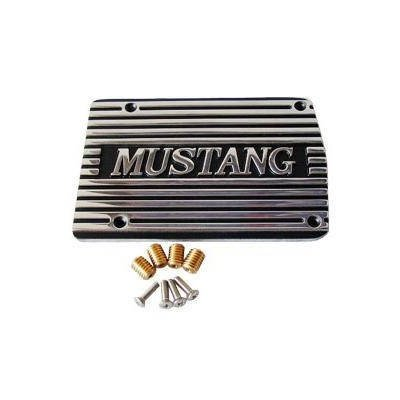 C5ZZ-19703-MP - Scott Drake A/C Compressor Cover Mustang (Polished) Image