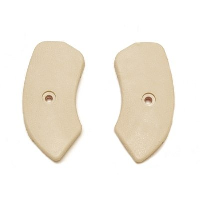 C5ZZ-6561692-3N - Scottt Drake 64-67 Seat Hinge Covers (Neutral) Image