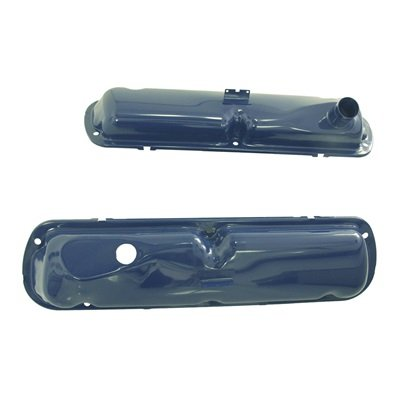 C5ZZ-6A582-BL - Scott Drake 65-68 Small Block Valve Covers (Blue) Image