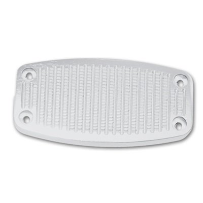 C6TZ-2457-BBL - Scott Drake 1966-77 Bronco Billet Automatic Brake Pedal Cover Image