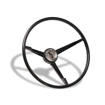 C7ZZ-3600-BK - Scott Drake 1967 Standard Steering Wheel (Black) Image