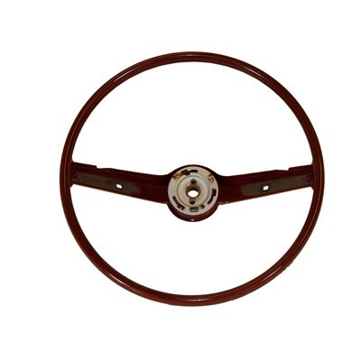 C8ZZ-3600-DR - Scott Drake 68-69 Standard Steering Wheel (Dark Red) Image