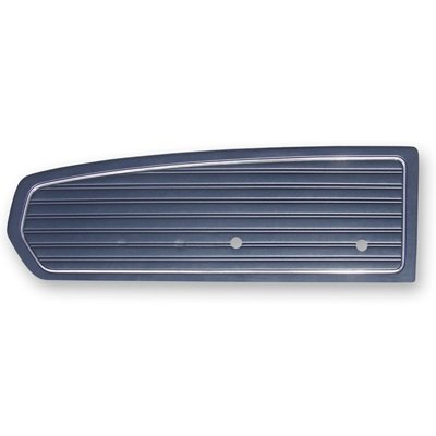 C8ZZ-65239423BL - Scott Drake 1968 Standard Door Panels (Blue) Image