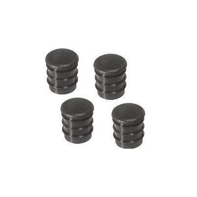 C8ZZ-6524056-BK - Scott Drake 68 Deluxe Arm Rest Plugs Set (Black, Set) Image