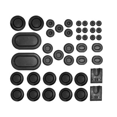 C9ZZ-6511135-K - Scott Drake 1969-70 Mustang Rubber Grommet Kit (44 pc) Image