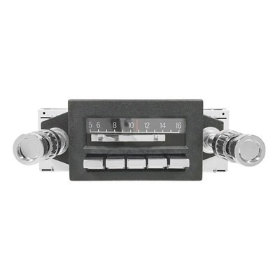 CAM-MS-SBR-67 - Scott Drake 1967-73 Slidebar AM/FM Radio w/aux.Inputs Image