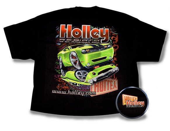 10007-LGHOL - Black Holley Challenger Re-Birth T-Shirt (Large) Image