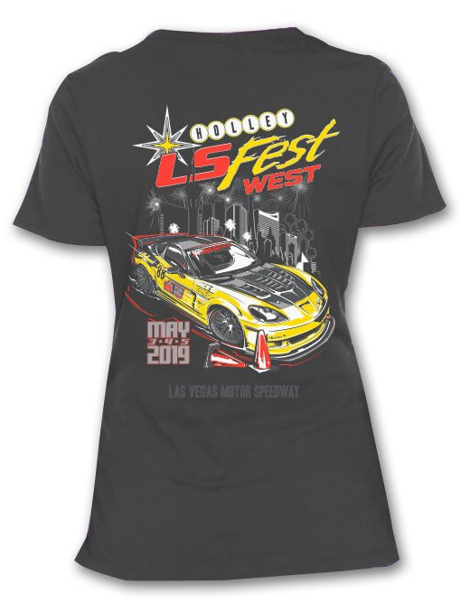 10199-XLHOL - Ladies 2019 LS Fest West Grand Champion Tee - additional Image