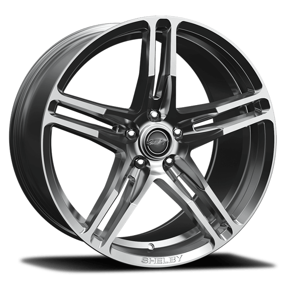 CS14-295430-CP - Carroll Shelby Wheels CS14 - 20 x 9.5 - 5 x 114.3 - 40mm Offset - Chrome Powser Image