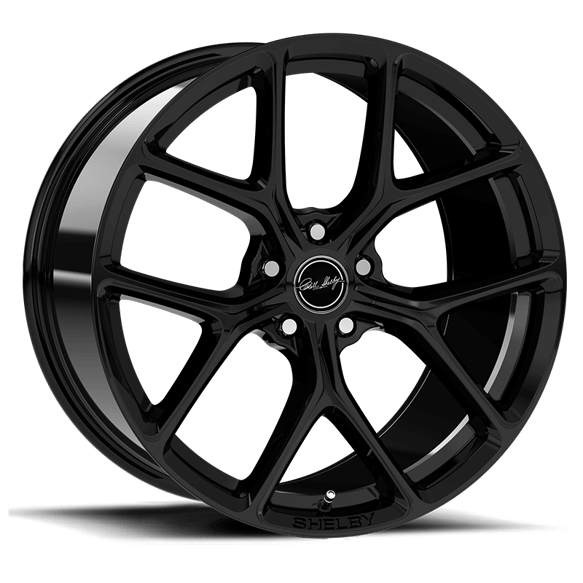 CS3-215455-B - Carroll Shelby Wheels CS3 - 20 x 1 1 in. - 5 x 114.3 - 50mm Offset - Gloss Black Image