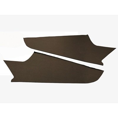 D1ZZ-63520189BK - Scott Drake 71-73 Headliner Trim Side Panels (Black) Image
