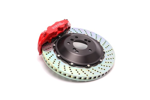 D290-0121-RD - Dinan by Brembo Front Brake Set - BMW 5/6-Series Image