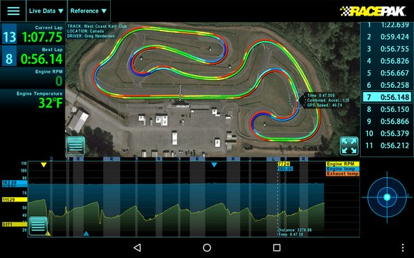 D3-ANDROID - Racepak D3 Android App - additional Image