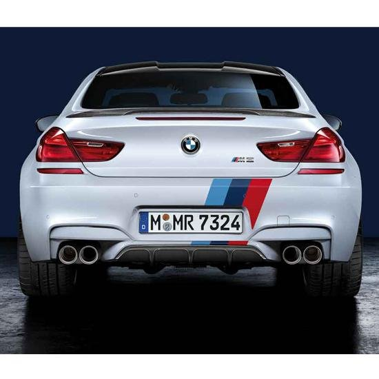 D980-0018 - BMW Performance Rear Diffuser Kit - 2015-2020 BMW M3 & M4 Image