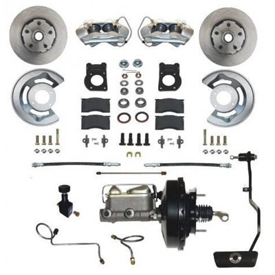 DBC-A133-A - Scott Drake 1970 Power Disc Brake Conversion Kit With Automatic Transmissions Image