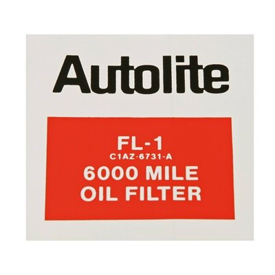 DF-684 - Scott Drake Autolite FL-1 Oil Filter Decal Image