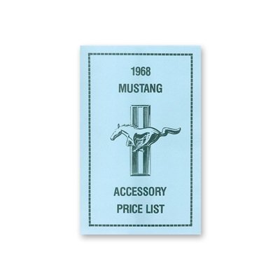 DF-98 - Scott Drake Accessory Price List Image