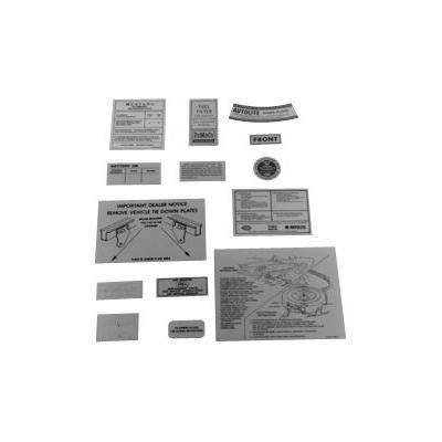 DK-27 - Scott Drake 14 Piece Decal Kit Image