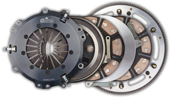 96-208 - Hays Dragon Claw Clutch Kit- Dual Disc Image