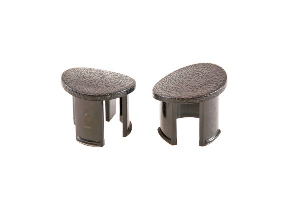E7ZZ-6124057-BK - Drake Muscle Cars 87-93 Arm Rest Plugs (Black, LH) Image