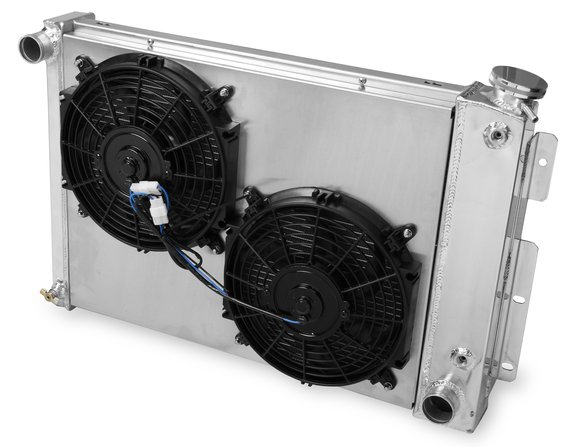 VK010000 - Frostbite Aluminum Radiator - 2 Row + Fan/Shroud Package Image