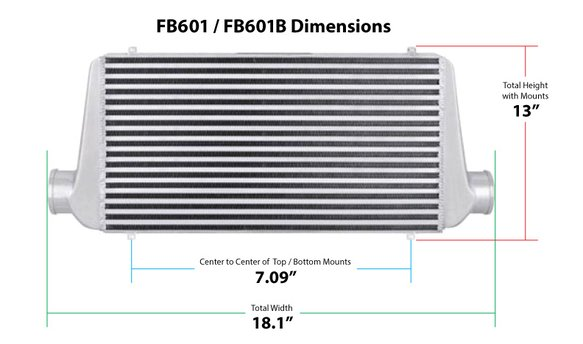 FB601 - Frostbite Air to Air Intercooler - additional Image