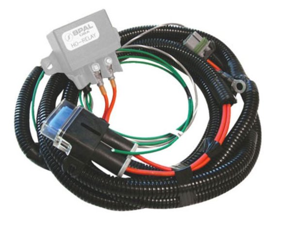 FRH-HO - SPAL High Output Fan (H.O.) Relay Harness Image