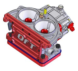 FX-2712 - QFX Series Carburetor 725CFM 2712 Split Image