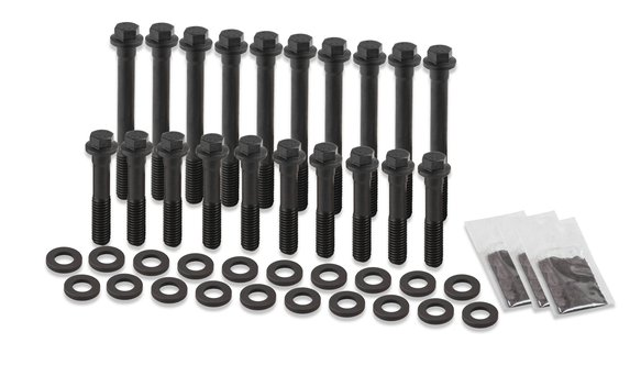 HBS-005ERL - Earl's Racing Products Head Bolt Set - Hex Head - Small Block Ford Image